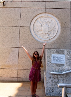 At the newly named United States Embassy of Cuba!
