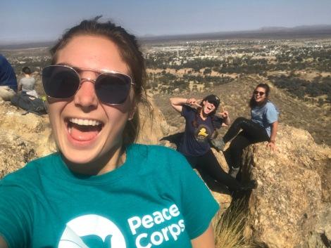 Mountain selfies