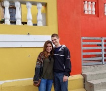 In the Bo Kaap neighborhood